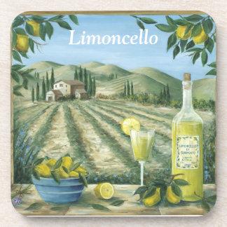 Limoncello Beverage Coaster
