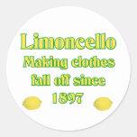 Limoncello Classic Round Sticker