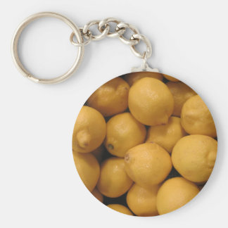 Limones amarillos amargos llavero personalizado