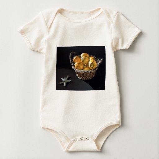 Limones amarillos body para bebé