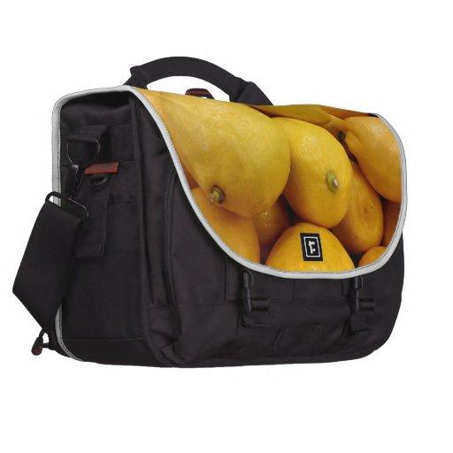 Limones amarillos bolsas para ordenador