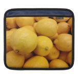 Limones amarillos mangas de iPad