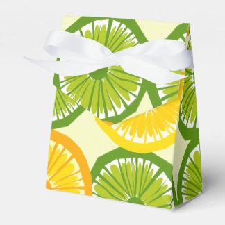 Limones, cales, y rebanadas anaranjadas - bolso 1 caja para regalos