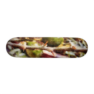 Limones crudos blandos tablas de patinar
