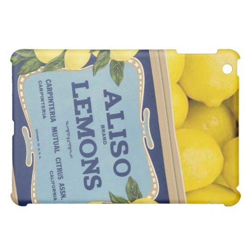 Limones de Aliso en un cajón