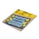 Limones de Aliso en un cajón Teja Ceramica