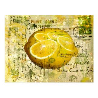 Limones de la postal