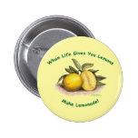 Limones de la vida - botón pin
