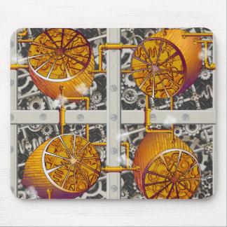 Limones de Steampunk Tapetes De Raton