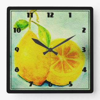 Limones del estilo del vintage relojes
