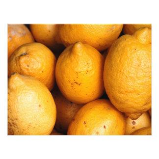 "Limones Folleto 8.5"" X 11"""