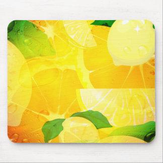 Limones frescos Mousepad