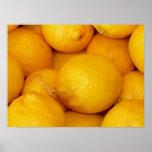 Limones frescos posters