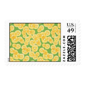 Limones frescos franqueo