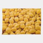 Limones orgánicos frescos toallas