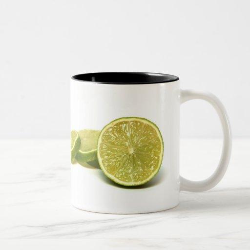 limones, tazas de café