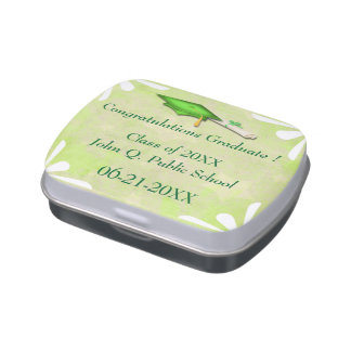 Limony Stars Graduation Candy Tins Party Favors