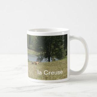 Limousin cows, la Creuse mug