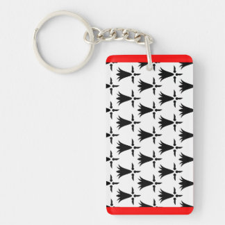 Limousin flag french region france country keychain