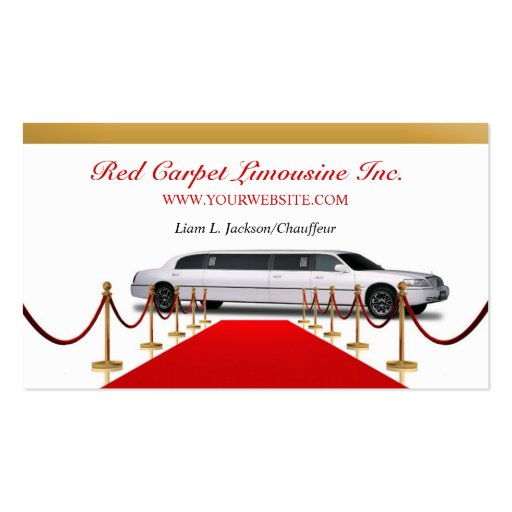 Limousine Business Card
