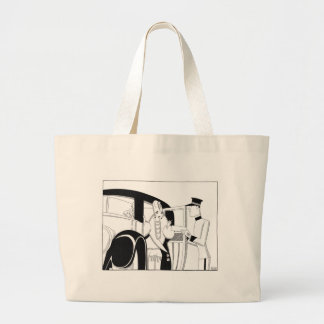 Limousine by Anne Harriet Fish Large Tote Bag