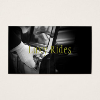 Limousines Limo Car Services Driver Business Card