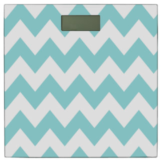 Limpet Shell Chevron Pattern Bathroom Scale
