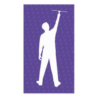 Limpiador de ventana Sillouette Tarjetas Personales