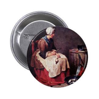 Limpiador del nabo de Chardin Jean-Baptiste Siméon Pin