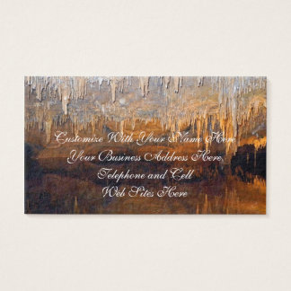 Limpid Underground Cave Pool Business Card