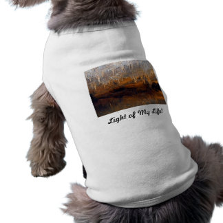 Limpid Underground Cave Pool Doggie Shirt