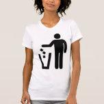 ¡Limpie al amante de las calles! Camiseta
