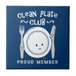 Limpie al club de la placa azulejo cerámica