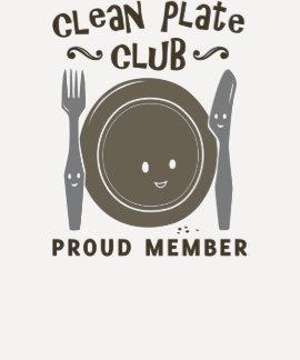 Limpie al club de la placa camisetas