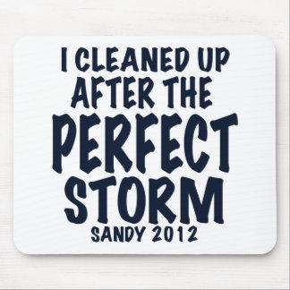Limpié después de la tormenta perfecta Sandy 2012 Alfombrillas De Ratón