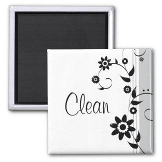 Limpie el imán de los platos