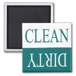 Limpie el imán del lavaplatos del sucio-Trullo