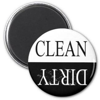 Limpie el imán redondo sucio-Negro del lavaplatos