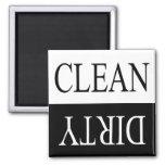 Limpie el imán sucio-Negro del lavaplatos