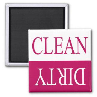 Limpie el imán sucio-Rosado del lavaplatos