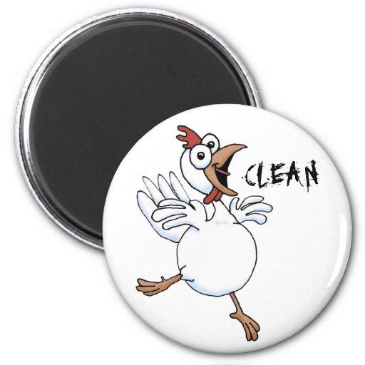 LIMPIE el lavaplatos (el pollo feliz) Iman