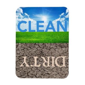 Limpie el lavaplatos sucio 3 el imán X4