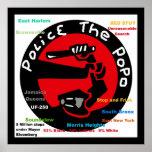Limpie el PoPo - la policía anti de NYC para y bri Posters