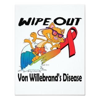 Limpie hacia fuera a Von Willebrands Disease Invitacion Personal