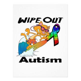 Limpie hacia fuera el autismo anuncios