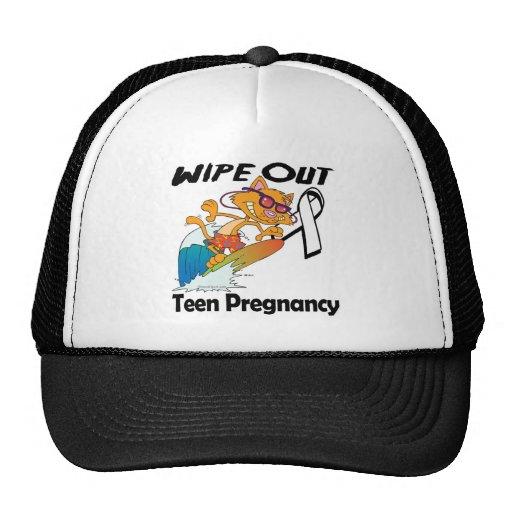 Limpie hacia fuera el embarazo adolescente gorras de camionero