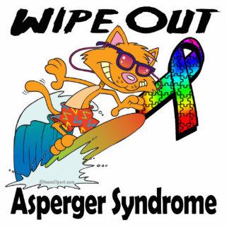 Limpie hacia fuera el síndrome de Asperger Esculturas Fotograficas