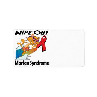 Limpie hacia fuera el síndrome de Marfan Etiquetas De Dirección