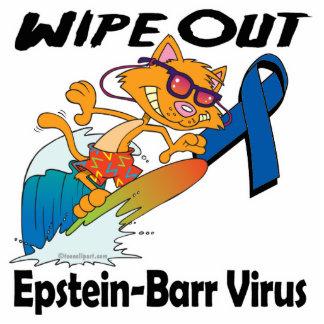 Limpie hacia fuera el virus de Epstein-Barr Esculturas Fotográficas