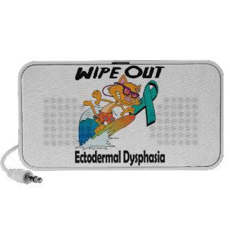 Limpie hacia fuera la disfasia ectodérmica mp3 altavoz